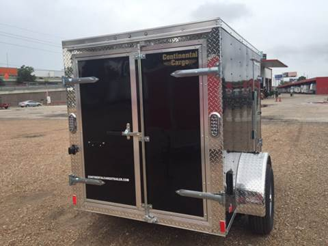 2017 Continental Cargo 5 X 8 SINGLE AXLE ENCLOSED  for sale in Spring, TX