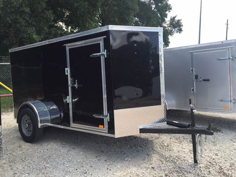 2017 Continental Cargo 5 X 10 SINGLE AXLE ENCLOSED  for sale in Spring, TX