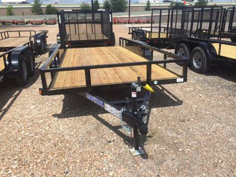 2017 Load Trail 77 X 14 PIPE TOP TRAILER