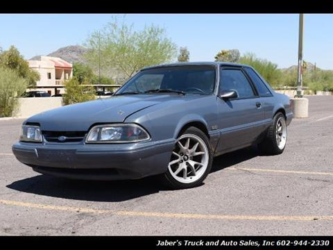1989 Ford Mustang for sale in Phoenix, AZ