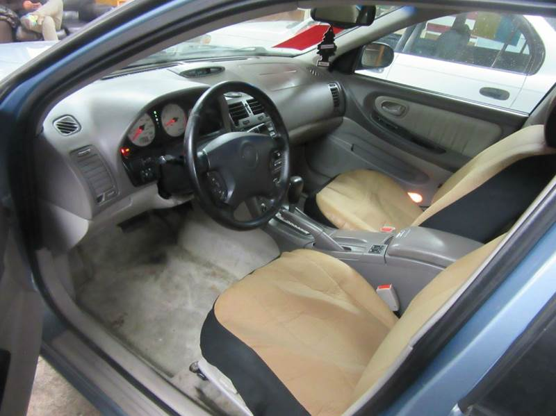 2001 nissan maxima gle interior