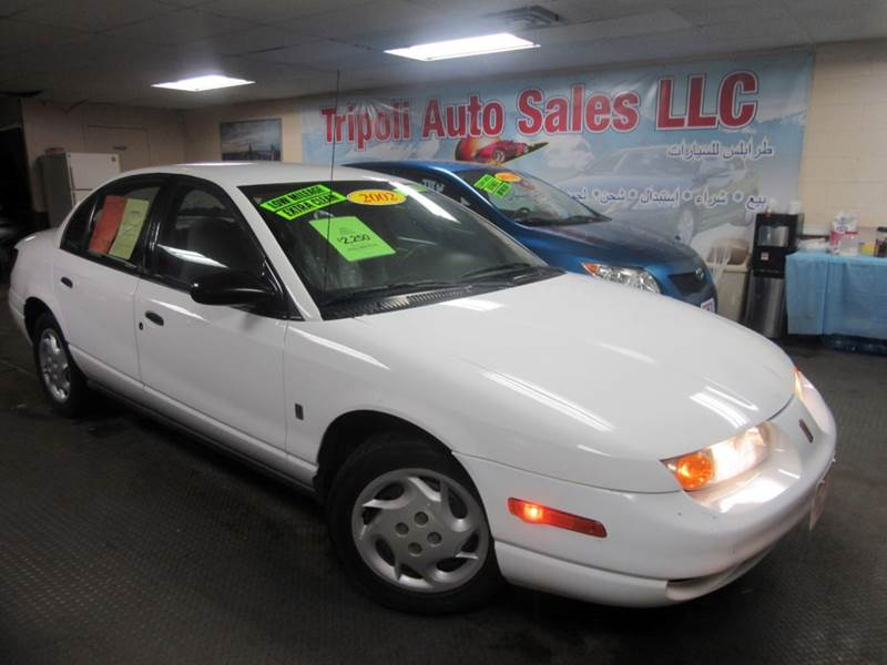 2002 Saturn S Series Sl1 4dr Sedan In Denver Co Tripoli Auto Sale