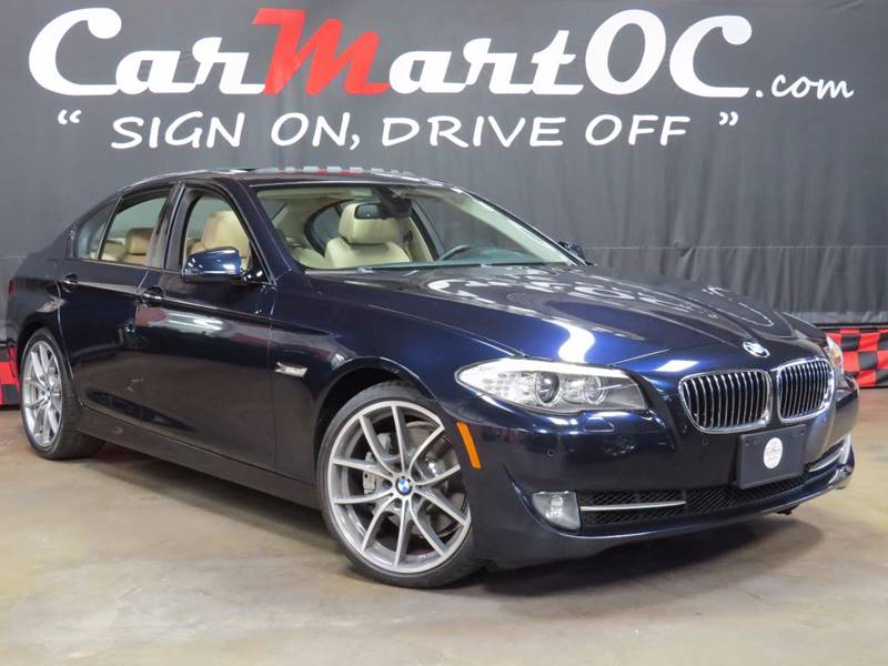 2011 bmw 5 series 535i 4dr sedan in orange county costa mesa ca carmart llc. Black Bedroom Furniture Sets. Home Design Ideas