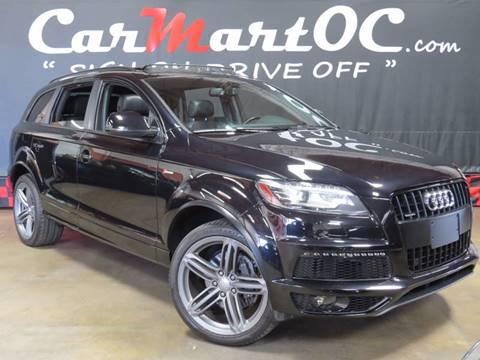2012 Audi Q7 for sale in Orange County, Costa Mesa, CA