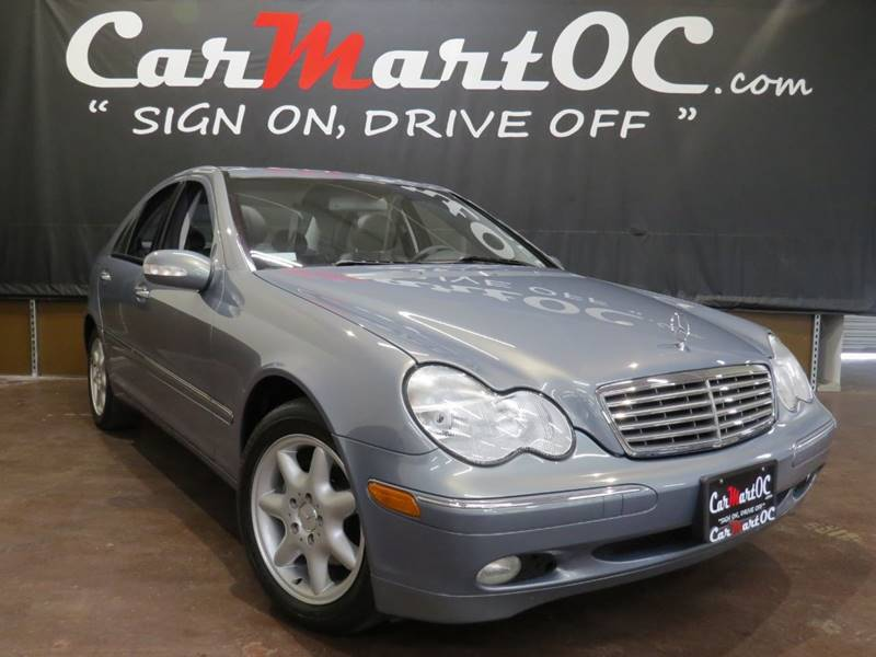 2004 Mercedes Benz C Class C 240 4dr Sedan In Costa Mesa Ca