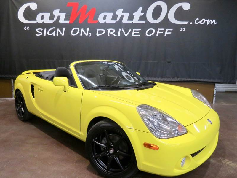2004 Toyota Mr2 Spyder 2dr Convertible In Costa Mesa Ca Carmart