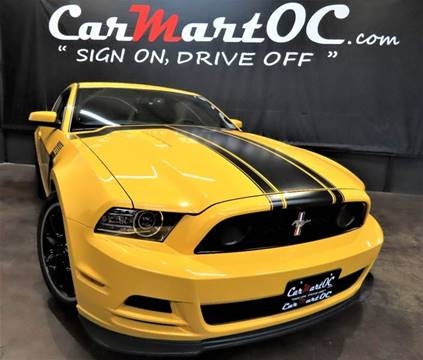 2013 Ford Mustang for sale in Costa Mesa, CA
