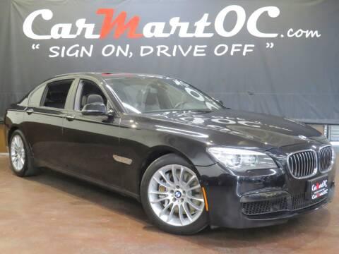 2013 BMW 7 Series 750Li for sale at CarMart OC in Costa Mesa, Orange County CA