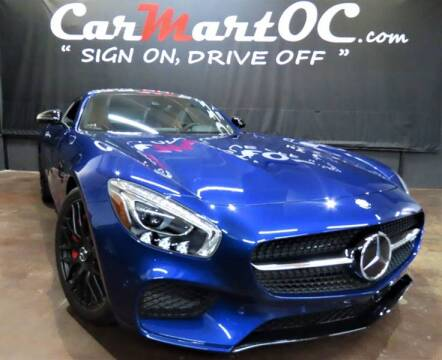 2017 Mercedes-Benz AMG GT S for sale at CarMart OC in Costa Mesa, Orange County CA