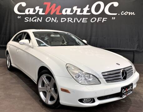 2006 Mercedes-Benz CLS CLS 500 for sale at CarMart OC in Costa Mesa, Orange County CA