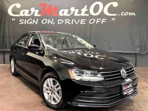2017 Volkswagen Jetta 1.4T S for sale at CarMart OC in Costa Mesa, Orange County CA
