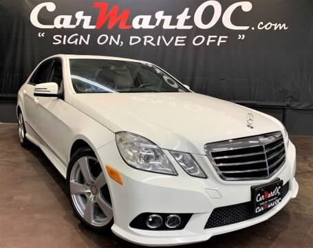 2010 Mercedes-Benz E-Class E 350 Luxury for sale at CarMart OC in Costa Mesa, Orange County CA