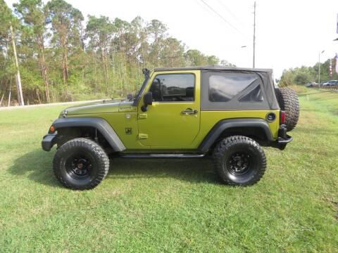 2007 Jeep Wrangler for sale at Ward's Motorsports in Pensacola FL