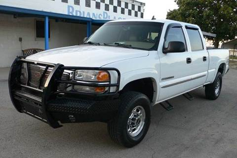 2007 GMC Sierra 2500HD Classic for sale at BriansPlace in Lipan TX