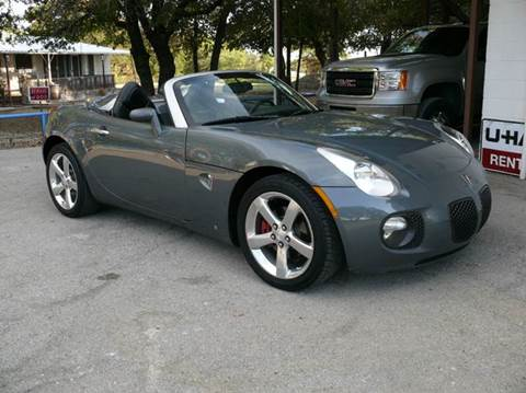 2008 Pontiac Solstice for sale at BriansPlace in Lipan TX