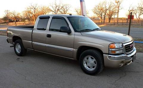 2004 GMC Sierra 1500 for sale at BriansPlace in Lipan TX