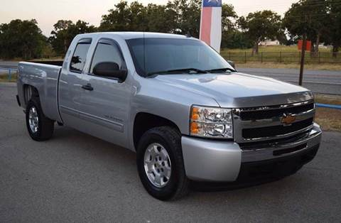 2011 Chevrolet Silverado 1500 for sale at BriansPlace in Lipan TX