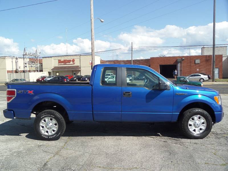 2010 Ford F-150 4x4 STX 4dr SuperCab Styleside 6.5 ft. SB - Barberton OH