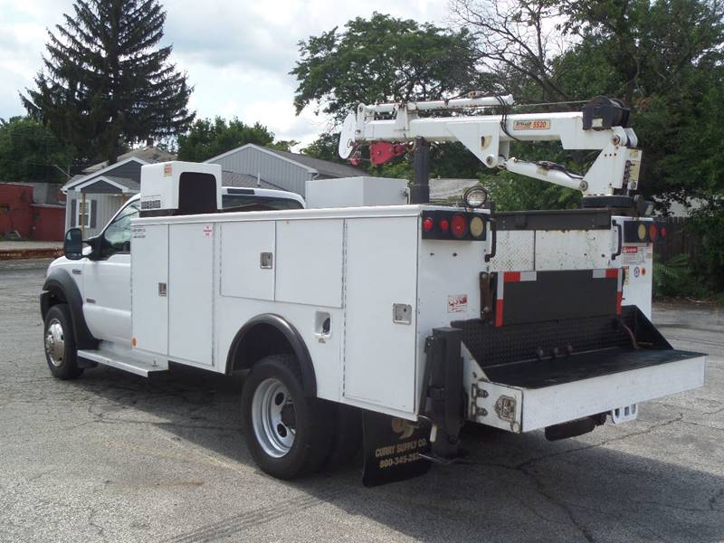 2007 Ford F-550 WORK DRW - Barberton OH