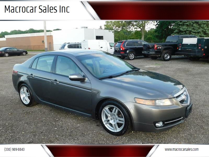 Acura Tl Dr Sedan In Akron OH Macrocar Sales Inc - 08 acura tl for sale