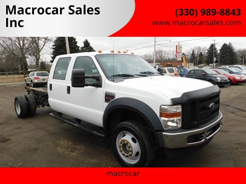 2008 Ford F-550 Super Duty for sale in Akron, OH