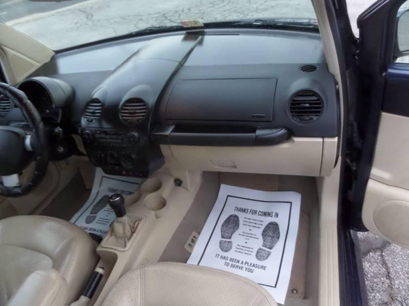 2001 Volkswagen New Beetle GLS 2dr Hatchback - Barberton OH