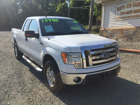 2011 Ford F-150 for sale at Watts Auto Sales in New Alexandria PA