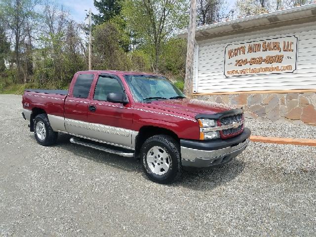 2005 Chevrolet Silverado 1500 for sale at Watts Auto Sales in New Alexandria PA