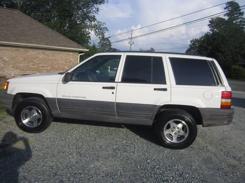 1997 Jeep Grand Cherokee 4dr Laredo 4WD SUV - Pittsboro NC