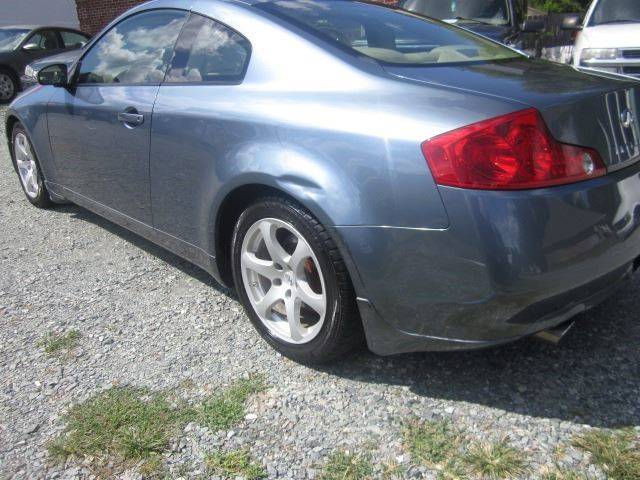 2005 Infiniti G35 Rwd 2dr Coupe - Pittsboro NC
