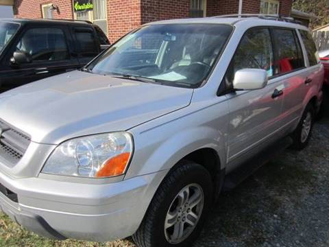 2005 Honda Pilot for sale at Maxx Used Cars in Pittsboro NC
