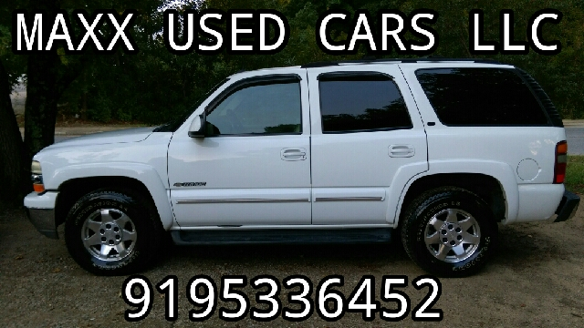 2002 Chevrolet Tahoe for sale at Maxx Used Cars in Pittsboro NC