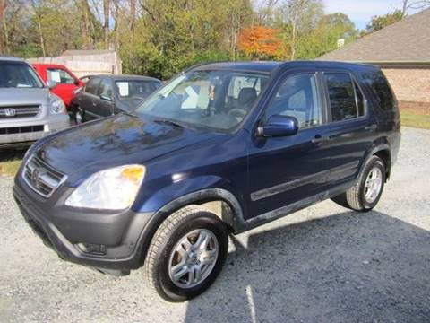 2002 Honda CR-V for sale at Maxx Used Cars in Pittsboro NC