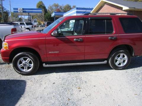 2004 Ford Explorer for sale at Maxx Used Cars in Pittsboro NC
