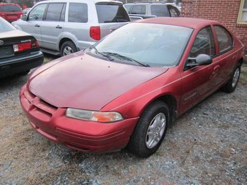 2000 Dodge Stratus for sale at Maxx Used Cars in Pittsboro NC