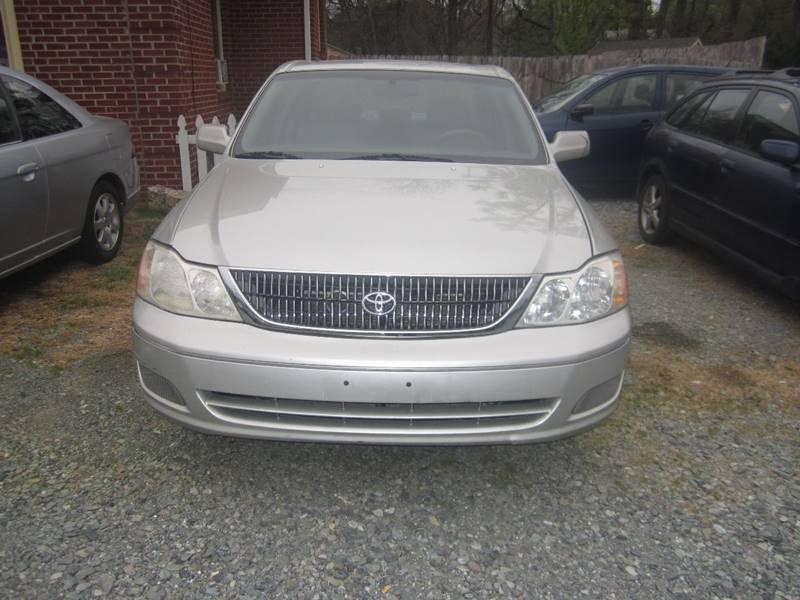 2001 Toyota Avalon XLS 4dr Sedan w/Bucket Seats - Pittsboro NC