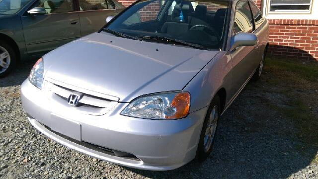 2003 Honda Civic EX 2dr Coupe w/Side Airbags - Pittsboro NC