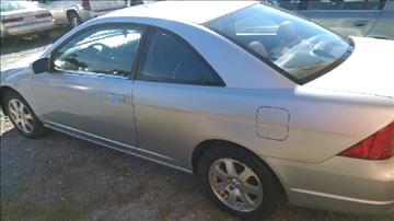 2003 Honda Civic for sale at Maxx Used Cars in Pittsboro NC