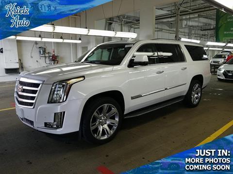 2016 Cadillac Escalade ESV for sale in Frederick, MD