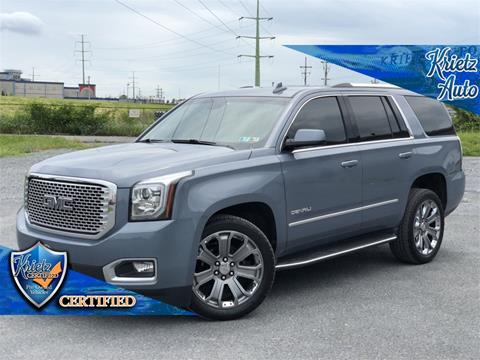 2015 GMC Yukon for sale in Frederick, MD