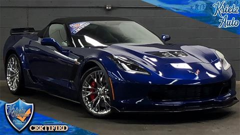 2016 Chevrolet Corvette For Sale In Frederick Md