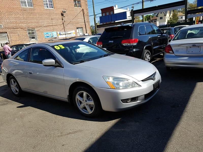 2003 Honda Accord EX 2dr Coupe   Brooklyn NY