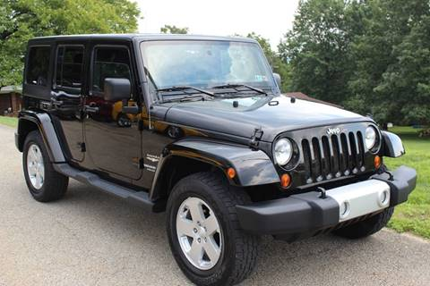 2011 Jeep Wrangler Unlimited for sale in Irwin, PA