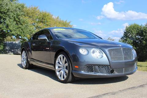 2012 Bentley Continental for sale in Irwin, PA