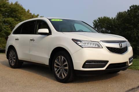 2014 Acura MDX for sale at Harrison Auto Sales in Irwin PA