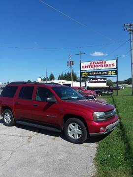 2003 Chevrolet TrailBlazer for sale in Knightstown, IN