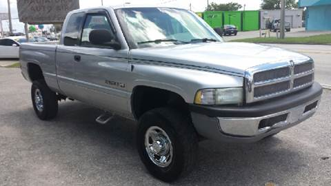 2001 Dodge Ram Pickup 2500 for sale at Eastside Auto Brokers LLC in Fort Myers FL