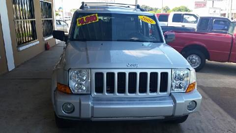 2006 Jeep Commander for sale at Eastside Auto Brokers LLC in Fort Myers FL