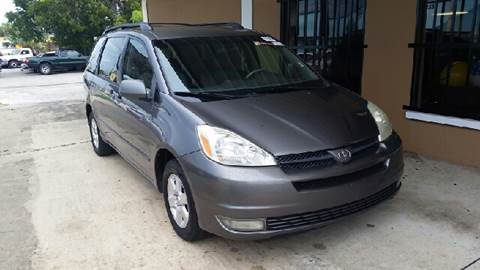 2005 Toyota Sienna for sale at Eastside Auto Brokers LLC in Fort Myers FL