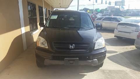 2003 Honda Pilot for sale at Eastside Auto Brokers LLC in Fort Myers FL
